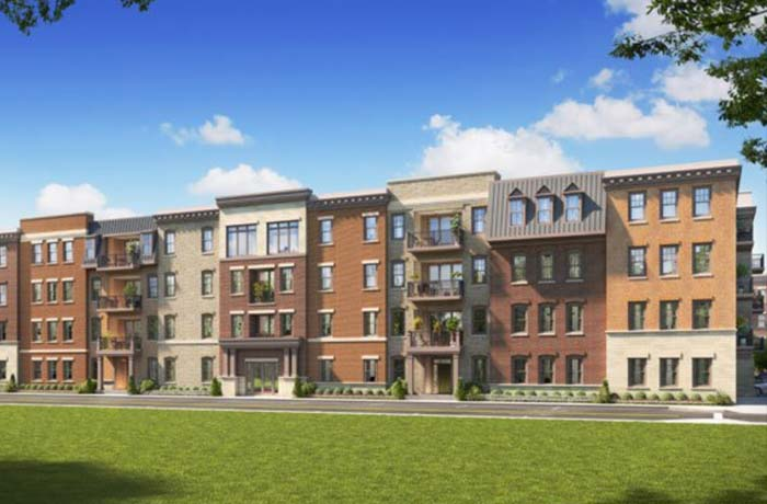 van metre homes condo rendering