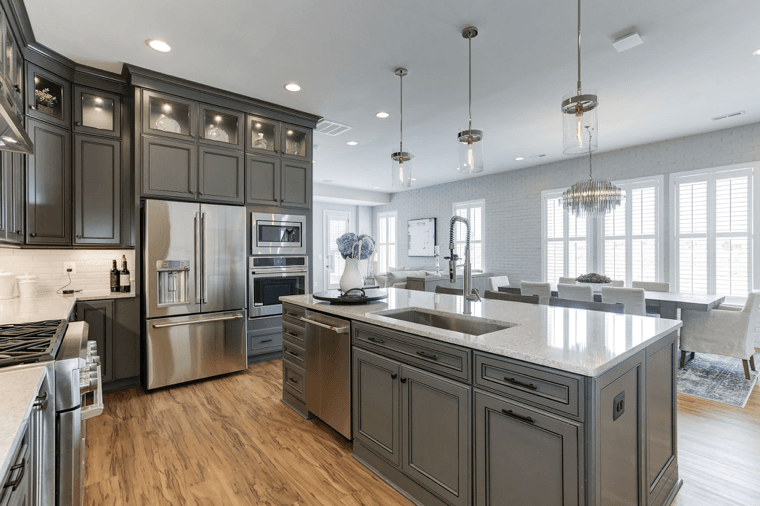 55+ kitchen in Birchwood by Van metre